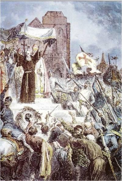 PopeUrbanFirstCrusade