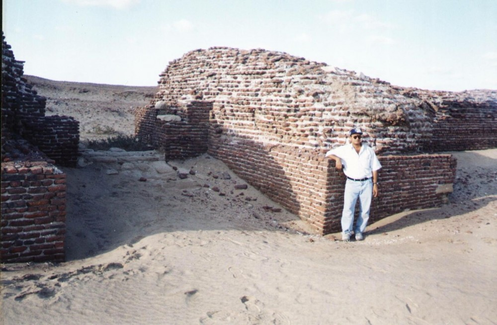 al-farma-bekas-reruntuhan-kota