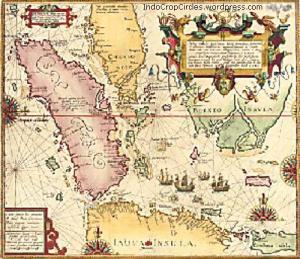Southeast Asia map by Willem Lodewijcksz (1598)