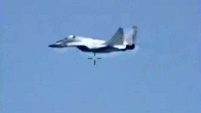 VIVA Militer: MiG-29 milik Rusia yang terbang ke Libya.