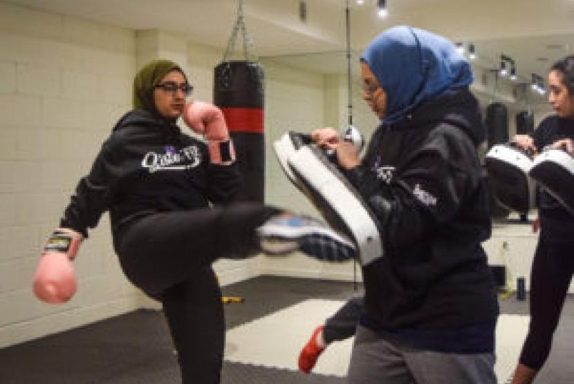 Marak Penyerangan, Muslimah Kanada Daftar Kelas Bela Diri. Ilustrasi