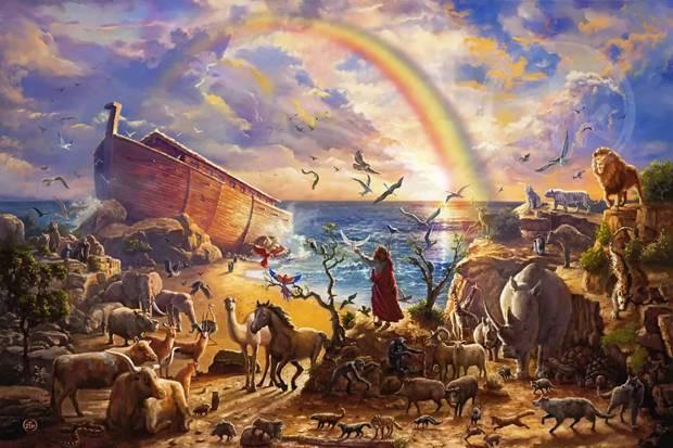 Jadi Makhluk yang Terjelek, Kutukan Nabi Nuh Kepada Keturunan Yafits