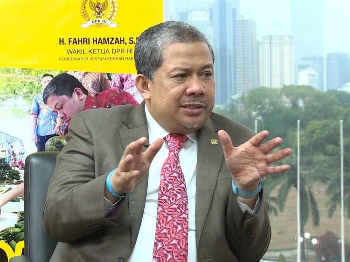Fahri Hamzah, Wakil Ketua DPR - RI