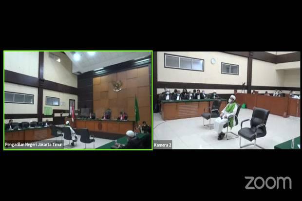 Kasus RS UMMI, Menantu Habib Rizieq Divonis 1 Tahun Penjara