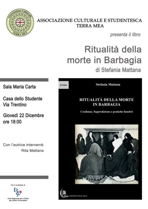 presentazione cagliari libro rituali della morte - ritualità della morte in barbagia