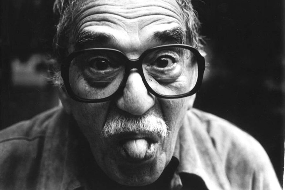 Gesto burlesco de Gabriel García Márquez