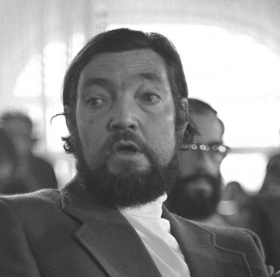 Autentica expresión de sorpresa de Julio Cortázar