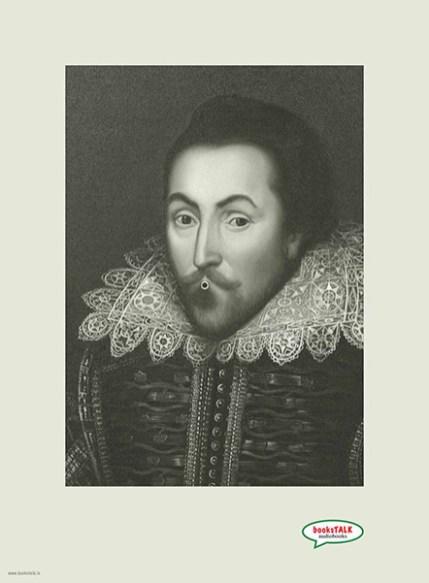 William Shakespeare de nuevo en un anuncio para audiolibros