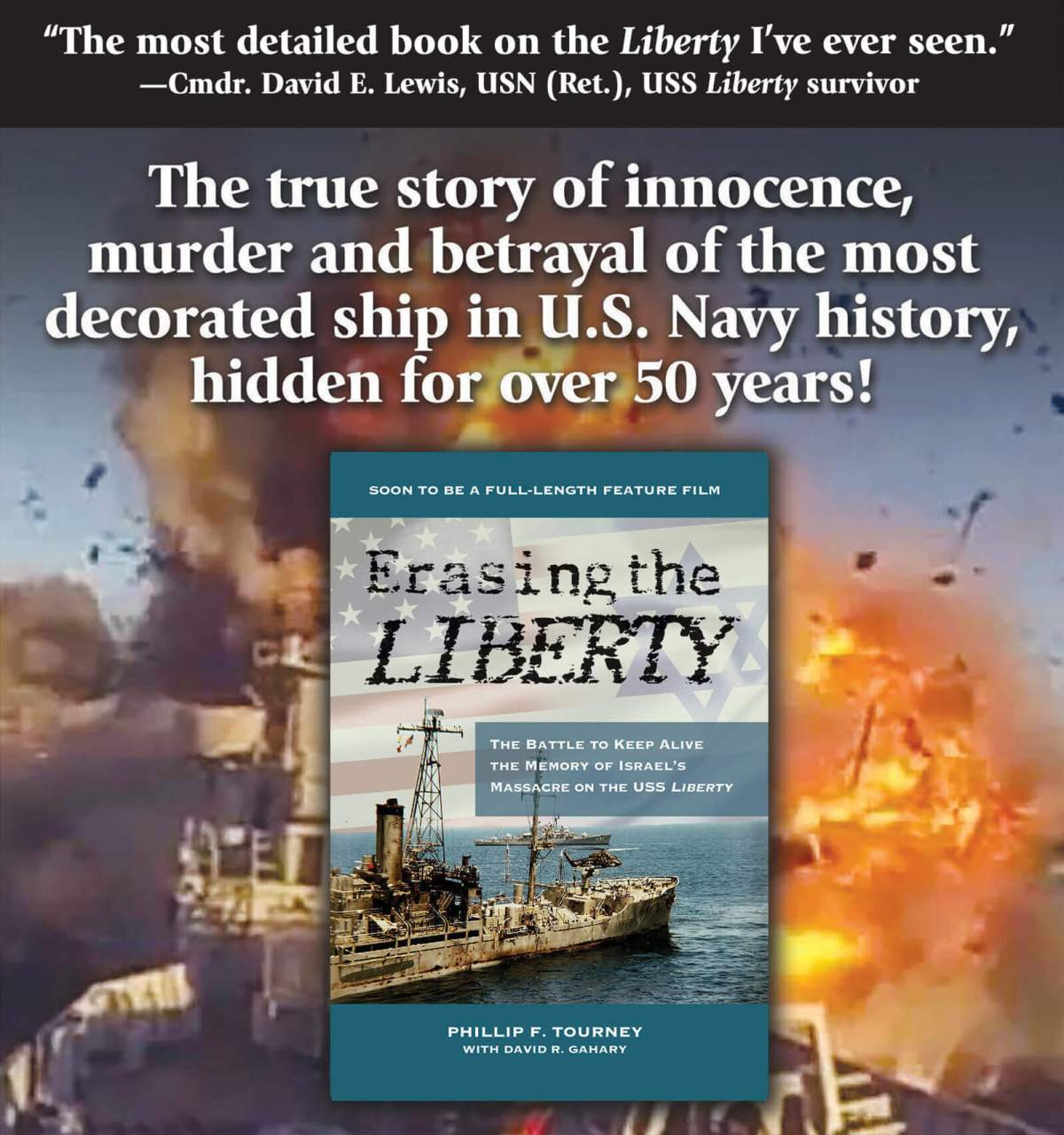 Erasing the Liberty intro
