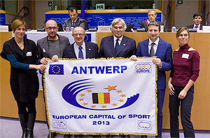 Amberes, Capital Europea del Deporte 2013 - ANTWERPmini - Amberes, Capital Europea del Deporte 2013