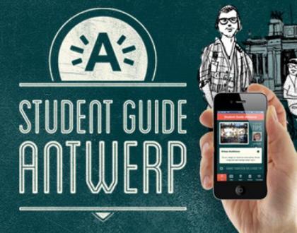 La Guía para los estudiantes en Amberes