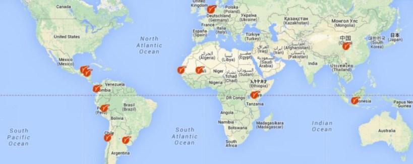 Map around the world  - Map around the world 1024x406 - ViaVia Cafe