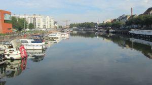Río Schelde y Leie. Gante