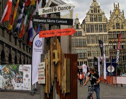 Antwerp City Drops: bombas de cultura