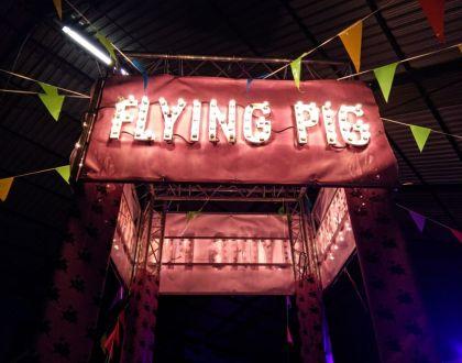 ¡Cuándo los cerdos vuelen! ¡¡Y llegaron los #3 Flying Pigs!!