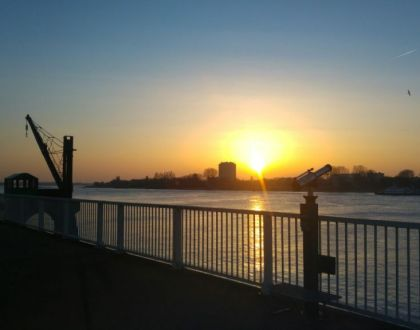 Persiguiendo el último rayo de sol