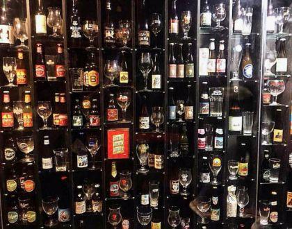 El muro de la fama de la cerveza está en Brujas