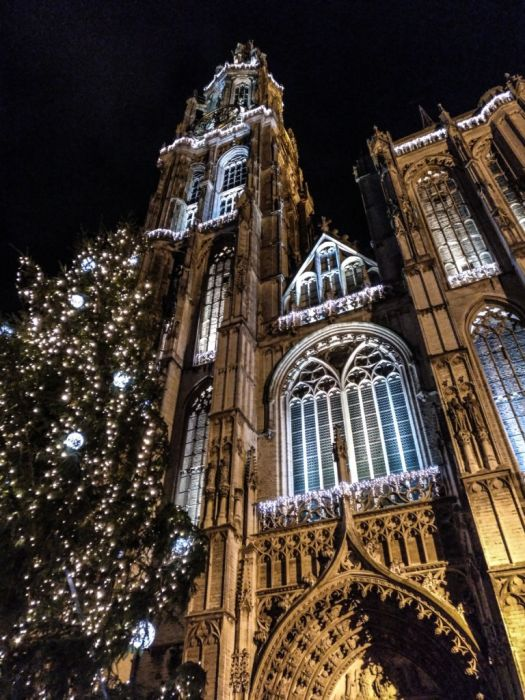 Pedalear para encender la Navidad - Winter in Antwerp 4 - Pedalear para encender la Navidad