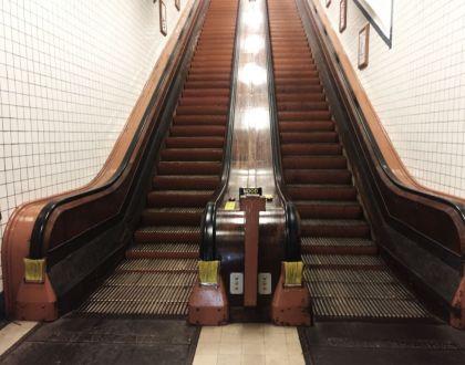 Las escaleras mecánicas más antiguas de Europa | Saint Anna Tunnel