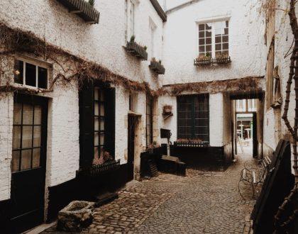 Vlaeykensgang, el lugar donde el pasado y el presente se unen