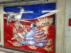 arte en las estaciones de metro - Louise 2 1 300x225 - ARTE EN LAS ESTACIONES DE METRO