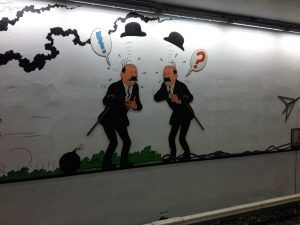 arte en las estaciones de metro - Stokkel 2 300x225 - ARTE EN LAS ESTACIONES DE METRO
