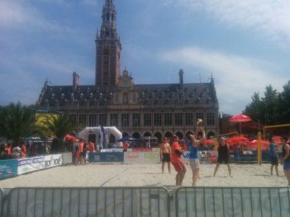 IMG_20160721_151005 leuven beachvolley: deporte frente a la biblioteca central - IMG 20160721 151005 1024x768 - Leuven BeachVolley: deporte frente a la biblioteca central