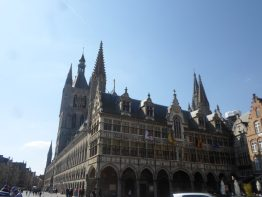 4. Grote Markt (14)_Cloth Hall (Belfry) + Town Hall (FILEminimizer) In Flanders Fields - 4 - In Flanders Fields
