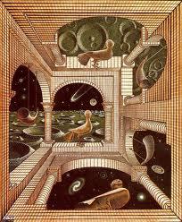 Comunicación Humana, Escher y Watzlawick
