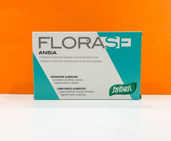 Capsule - florase ansia - Santiveri | Erboristeria Erbainfusa Como | Shop Online