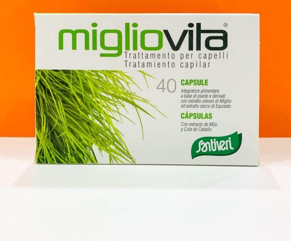 Capsule - migliovita 40 - Santiveri | Erboristeria Erbainfusa Como | Shop Online