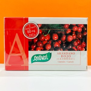 Capsule - mirtillo rosso - Santiveri | Erboristeria Erbainfusa Como | Shop Online