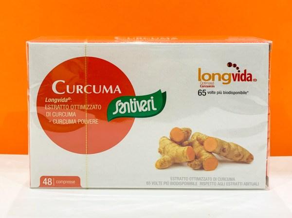 Compresse - curcuma - Santiveri   Erboristeria Erbainfusa Como   Shop Online