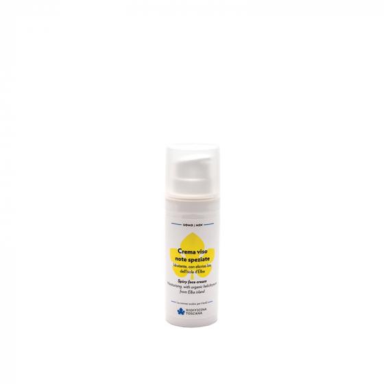 Crema viso uomo - note speziate - Biofficina Toscana | Erboristeria Erbainfusa Como | Shop Online