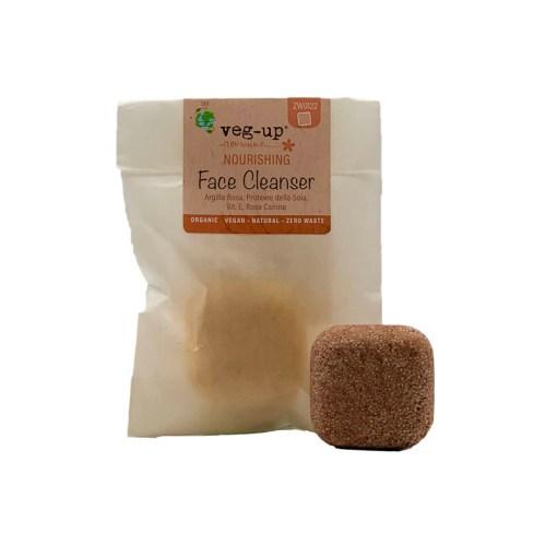 Detergente Viso Solido per pelli secche Nourishing - Veg Up | Erboristeria Erbainfusa Como | Shop Online