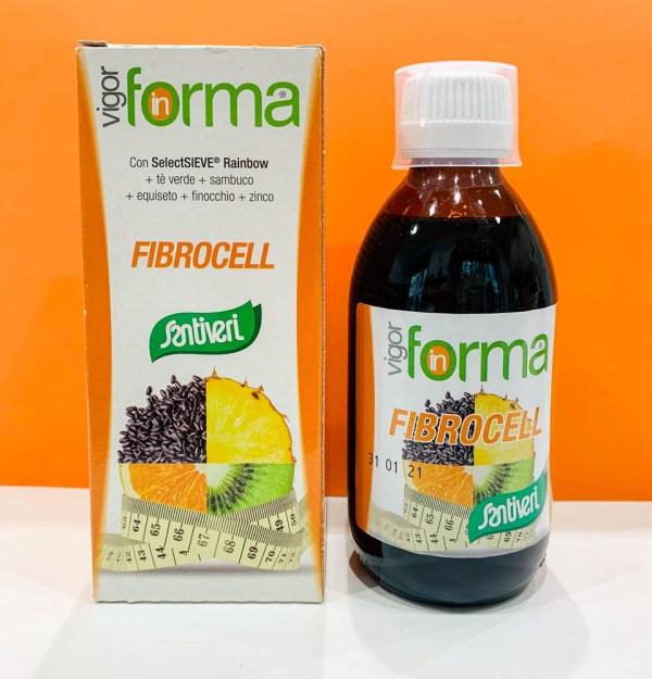 Sciroppo - vigor in forma fibrocell - Santiveri | Erboristeria Erbainfusa Como | Shop Online