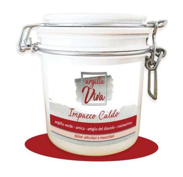 Argilla - impacco caldo - Sapone Marino | Erboristeria Erbainfusa Como | Shop Online