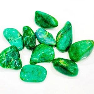 Burattati - fuchsite - Cristalli del benessere | Erboristeria Erbainfusa Como | Shop Online