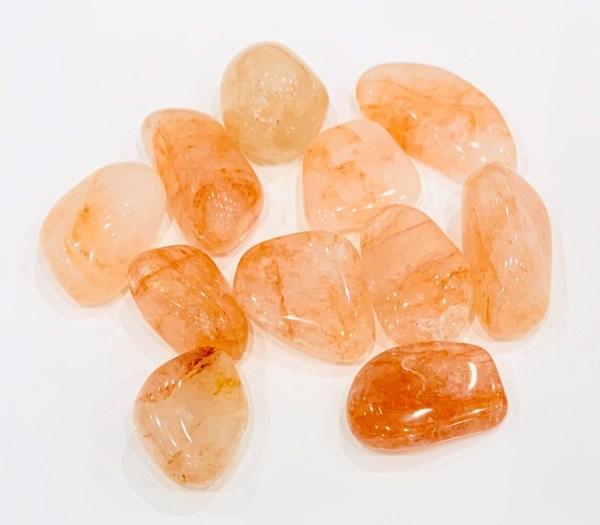 Burattati - quarzo ematoide - Cristalli del benessere | Erboristeria Erbainfusa Como | Shop Online