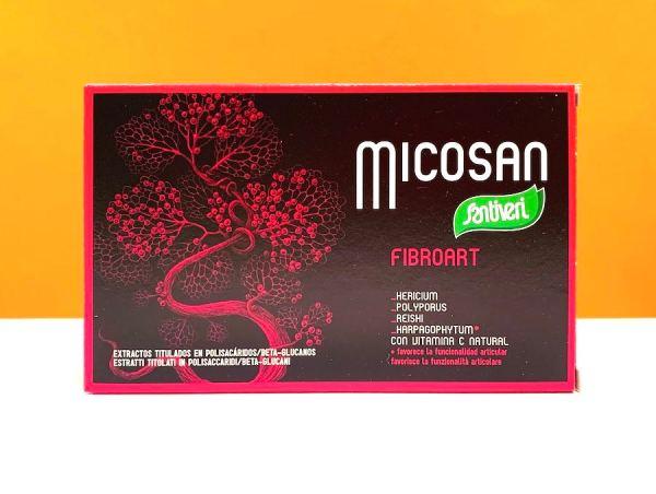 Capsule - micosan fibroart - Santiveri | Erboristeria Erbainfusa Como | Shop Online