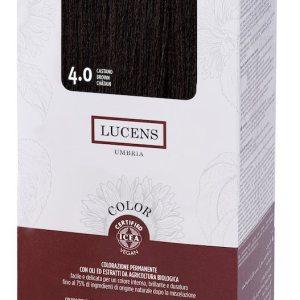 Colore naturale capelli - 4.0 castano - Lucens Umbria | Erboristeria Erbainfusa Como | Shop Online