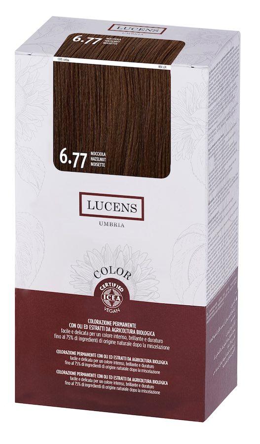 Colore naturale capelli - 6.77 nocciola - Lucens Umbria | Erboristeria Erbainfusa Como | Shop Online
