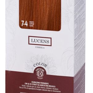Colore naturale capelli - 7.4 ramato - Lucens Umbria | Erboristeria Erbainfusa Como | Shop Online