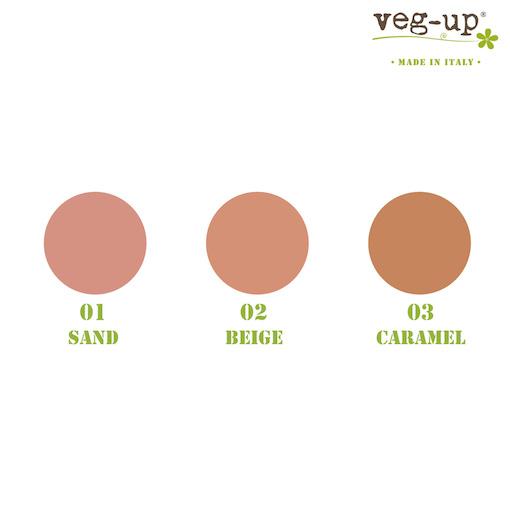 Compact Foundation colori - Veg Up | Erboristeria Erbainfusa Como | Shop Online