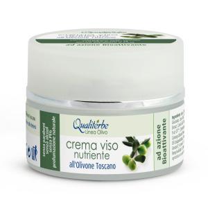 Crema viso nutriente all'olivone toscano - Qualiterbe | Erboristeria Erbainfusa Como | Shop Online