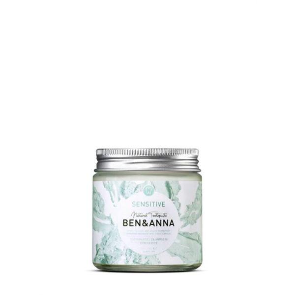 Dentifricio - sensitive - Ben & Ann | Erboristeria Erbainfusa Como | Shop Online