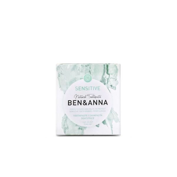 Dentifricio - sensitive - confezione - Ben & Ann | Erboristeria Erbainfusa Como | Shop Online