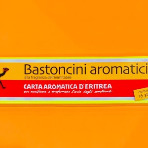 Incensi - Carta aromatica eritrea | Erboristeria Erbainfusa Como | Shop Online