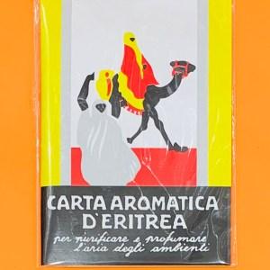 Incensi listelli carta - Carta aromatica Eritrea | Erboristeria Erbainfusa Como | Shop Online