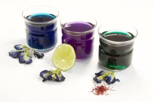 Infuso - Pisello blu thailandese - colori - Erbainfusa | Erboristeria Erbainfusa Como | Shop Online